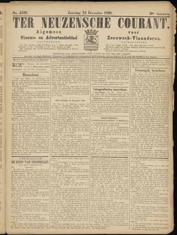 Ter Neuzensche Courant. Algemeen Nieuws- en Advertentieblad voor Zeeuwsch-Vlaanderen / Neuzensche Courant ... (idem) / (Algemeen) nieuws en advertentieblad voor Zeeuwsch-Vlaanderen 1898-12-24