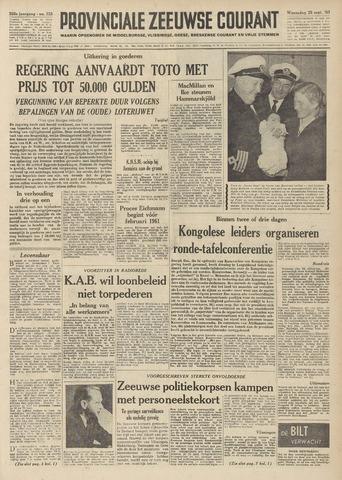 Provinciale Zeeuwse Courant 1960-09-28