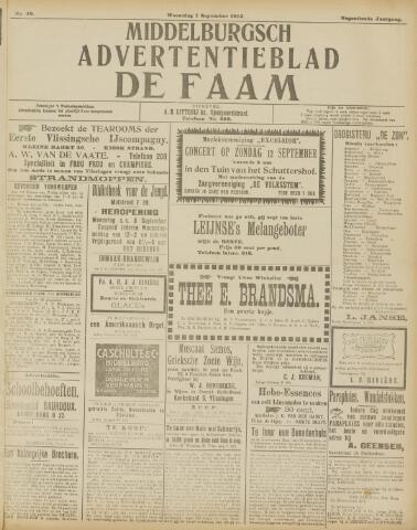 de Faam en de Faam/de Vlissinger 1915-09-01
