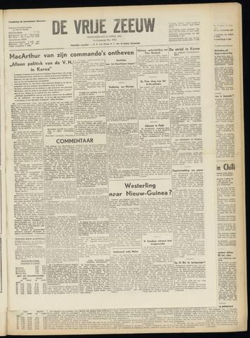 de Vrije Zeeuw 1951-04-12