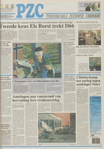 Provinciale Zeeuwse Courant 1998-01-26