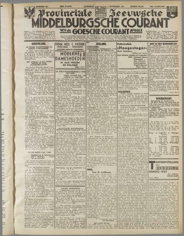 Middelburgsche Courant 1937-11-06