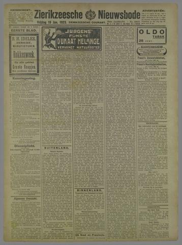 Zierikzeesche Nieuwsbode 1923-01-19