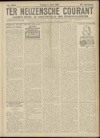 Ter Neuzensche Courant. Algemeen Nieuws- en Advertentieblad voor Zeeuwsch-Vlaanderen / Neuzensche Courant ... (idem) / (Algemeen) nieuws en advertentieblad voor Zeeuwsch-Vlaanderen 1927-04-08