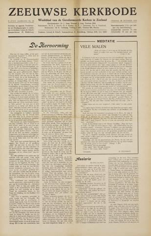Zeeuwsche kerkbode, weekblad gewijd aan de belangen der gereformeerde kerken/ Zeeuwsch kerkblad 1955-10-28