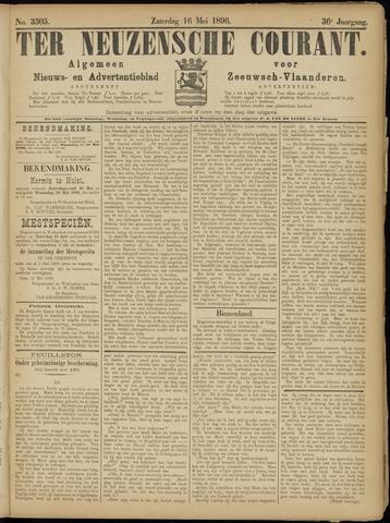 Ter Neuzensche Courant. Algemeen Nieuws- en Advertentieblad voor Zeeuwsch-Vlaanderen / Neuzensche Courant ... (idem) / (Algemeen) nieuws en advertentieblad voor Zeeuwsch-Vlaanderen 1896-05-16