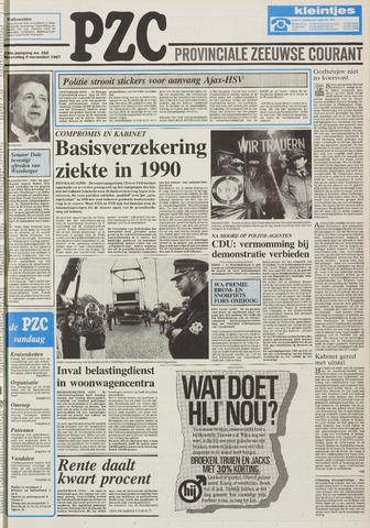 Provinciale Zeeuwse Courant 1987-11-04