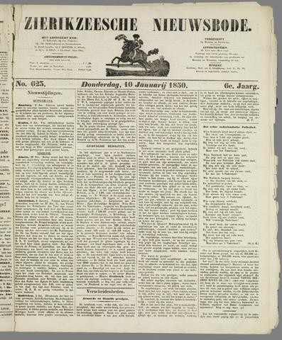 Zierikzeesche Nieuwsbode 1850-01-10