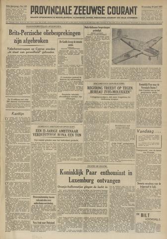Provinciale Zeeuwse Courant 1951-06-20