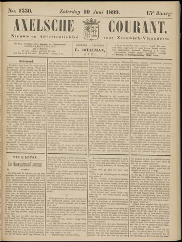 Axelsche Courant 1899-06-10