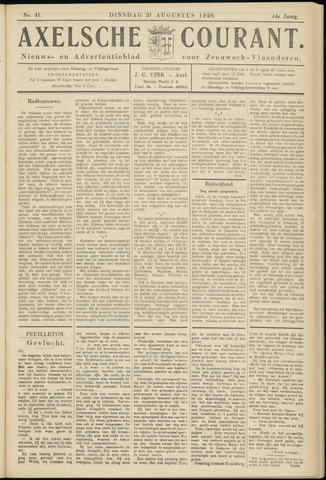 Axelsche Courant 1928-08-21