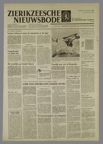 Zierikzeesche Nieuwsbode 1965-10-14