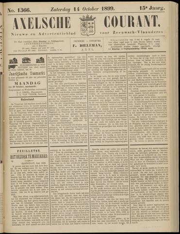 Axelsche Courant 1899-10-14