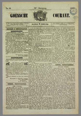 Goessche Courant 1854-02-06