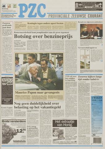 Provinciale Zeeuwse Courant 1997-10-08