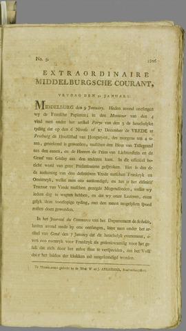 Middelburgsche Courant 1806-01-10