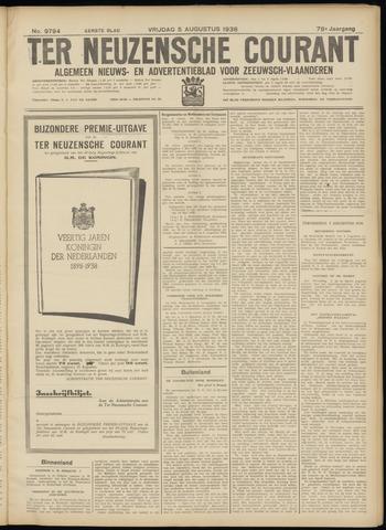Ter Neuzensche Courant. Algemeen Nieuws- en Advertentieblad voor Zeeuwsch-Vlaanderen / Neuzensche Courant ... (idem) / (Algemeen) nieuws en advertentieblad voor Zeeuwsch-Vlaanderen 1938-08-05