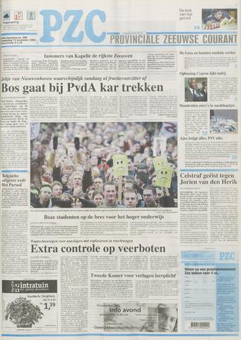 Provinciale Zeeuwse Courant 2002-11-13