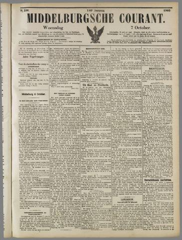 Middelburgsche Courant 1903-10-07