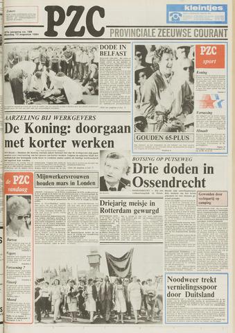 Provinciale Zeeuwse Courant 1984-08-13