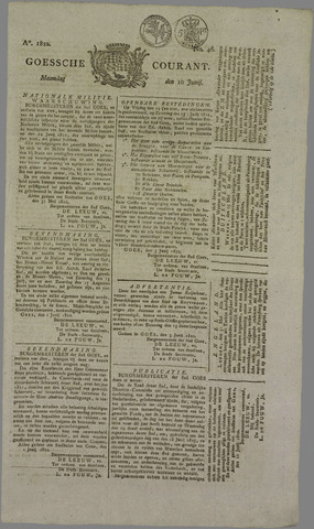 Goessche Courant 1822-06-10
