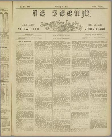 De Zeeuw. Christelijk-historisch nieuwsblad voor Zeeland 1896-06-11