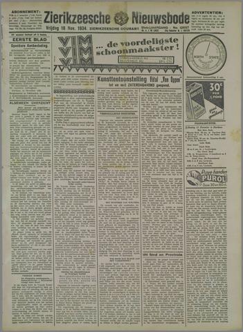 Zierikzeesche Nieuwsbode 1934-11-16