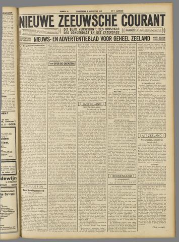 Nieuwe Zeeuwsche Courant 1931-08-06