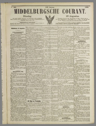 Middelburgsche Courant 1905-08-29