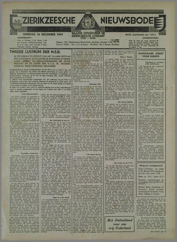 Zierikzeesche Nieuwsbode 1941-11-16