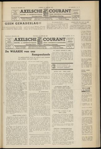 Axelsche Courant 1953-02-18