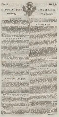 Middelburgsche Courant 1761-02-05