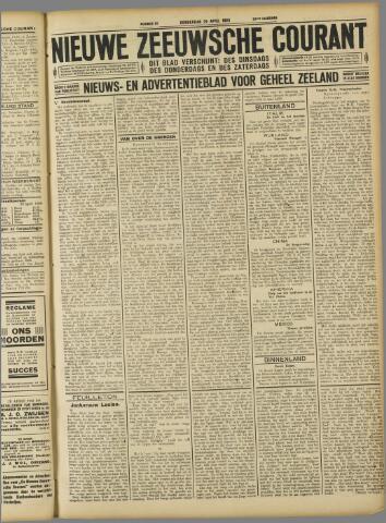 Nieuwe Zeeuwsche Courant 1928-04-26