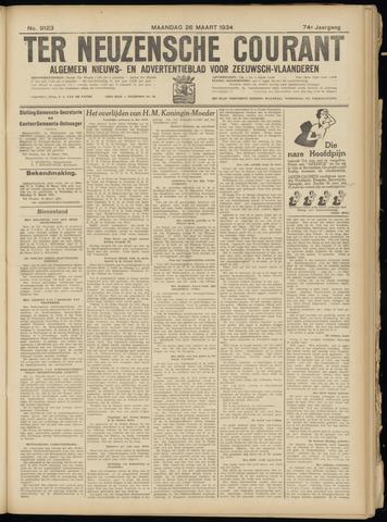 Ter Neuzensche Courant. Algemeen Nieuws- en Advertentieblad voor Zeeuwsch-Vlaanderen / Neuzensche Courant ... (idem) / (Algemeen) nieuws en advertentieblad voor Zeeuwsch-Vlaanderen 1934-03-26