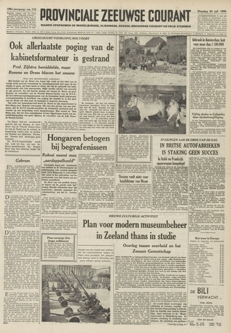 Provinciale Zeeuwse Courant 1956-07-24