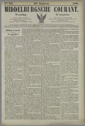 Middelburgsche Courant 1888-08-15