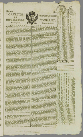 Middelburgsche Courant 1811-04-23