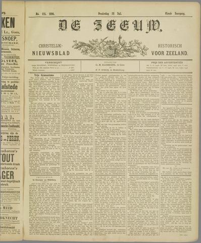 De Zeeuw. Christelijk-historisch nieuwsblad voor Zeeland 1896-07-23