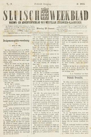 Sluisch Weekblad. Nieuws- en advertentieblad voor Westelijk Zeeuwsch-Vlaanderen 1875-01-26