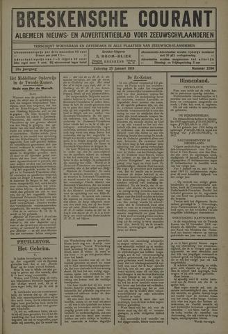Breskensche Courant 1919-01-25