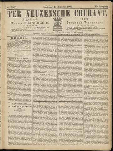 Ter Neuzensche Courant. Algemeen Nieuws- en Advertentieblad voor Zeeuwsch-Vlaanderen / Neuzensche Courant ... (idem) / (Algemeen) nieuws en advertentieblad voor Zeeuwsch-Vlaanderen 1900-08-23