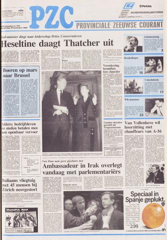 Provinciale Zeeuwse Courant 1990-11-15