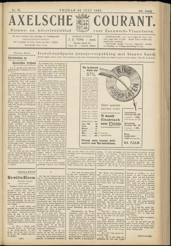Axelsche Courant 1938-07-22