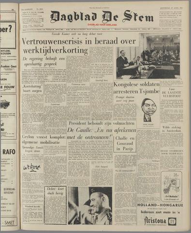 de Stem 1961-04-27