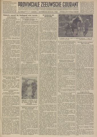 Provinciale Zeeuwse Courant 1942-08-29