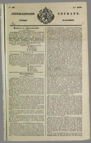 Zierikzeesche Courant 1844-11-29