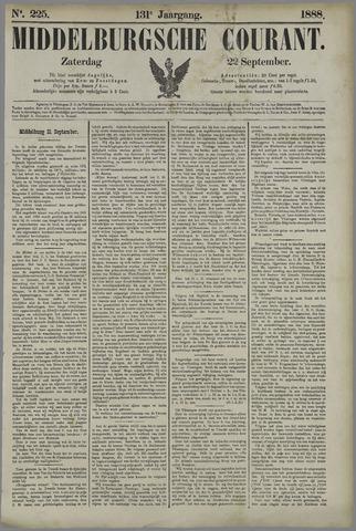 Middelburgsche Courant 1888-09-22