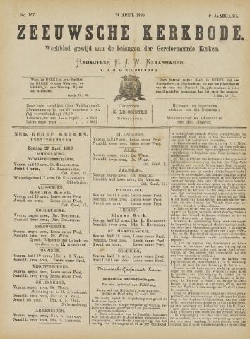 Zeeuwsche kerkbode, weekblad gewijd aan de belangen der gereformeerde kerken/ Zeeuwsch kerkblad 1890-04-26