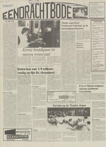 Eendrachtbode (1945-heden)/Mededeelingenblad voor het eiland Tholen (1944/45) 1979-06-21