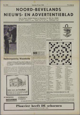Noord-Bevelands Nieuws- en advertentieblad 1968-06-29